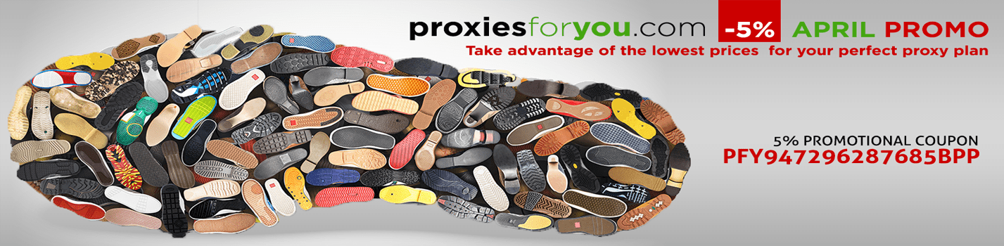 April comes with private proxy coupon discounts, promo 5% Coupon Code